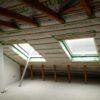 Ausbau eines Dachgeschoß mit Zellulose Einblasdämmung