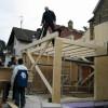 März 03 - Altbauerweiterung in Holzständerkonstruktion Mainz Gonsenheim
