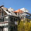 Juli 03 - Aufstockung mit Treppenhausturm in Mainz Bretzenheim