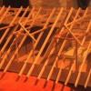 Juli 04 - Planungsmodel einer Dacherneurung in Albig