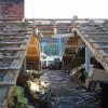 Januar 05 - Abriss vor Aufstockung eines Geschäftshauses in der Steingasse Mainz