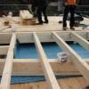 Februar 05 - Herstellen einer Dachterrasse altes Kalkofenwerk in Finthen