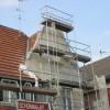 März 2010 - Dachsanierung eines denkmalgeschützten Hauses in Gonsenheim