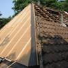 Juni 10 - Dachsanierung mit Gutex multiplex Platten im Waldvillengebiet von Mainz-Gonsenheim