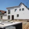 August 10 - Fertigstellung eines Hausumbaus in Mainz Gonsenheim
