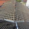 August 2011 - Dacheindeckung einer Scheune mit Dachlatten 3/5