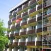 Juni 2014 - Erneuerung der Brüstungsbretter von 325 Balkonen incl. wetterfeste Endbehandlung