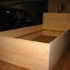Oktober 2014 - Herstellung von Kastenbetten aus Fichte
