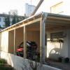 Februar 2015 - Carport für Elektroauto mit Gerätehaus