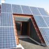 Hochterrasse mit Solaranlage