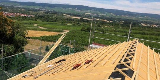 Juli 2018 Energetische Dachsanierung