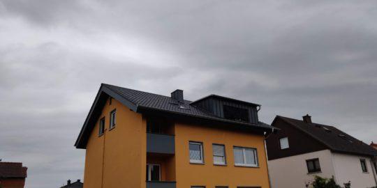 Juli 2019 Einbau von zwei Flachdachgauben im Zug einer Dachsanierung