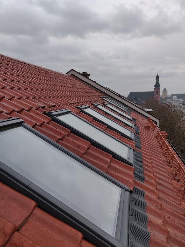 Januar 2020 VELUX Dachfenster-Austausch in der Mainzer Kaiserstraße